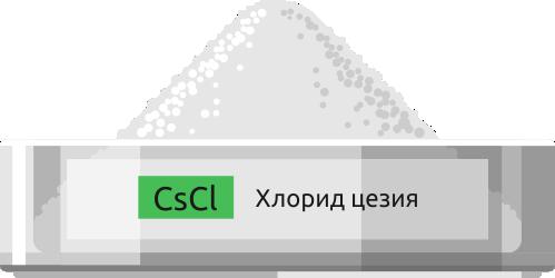 Купить хлорид цезия - Центр технологий Лантан